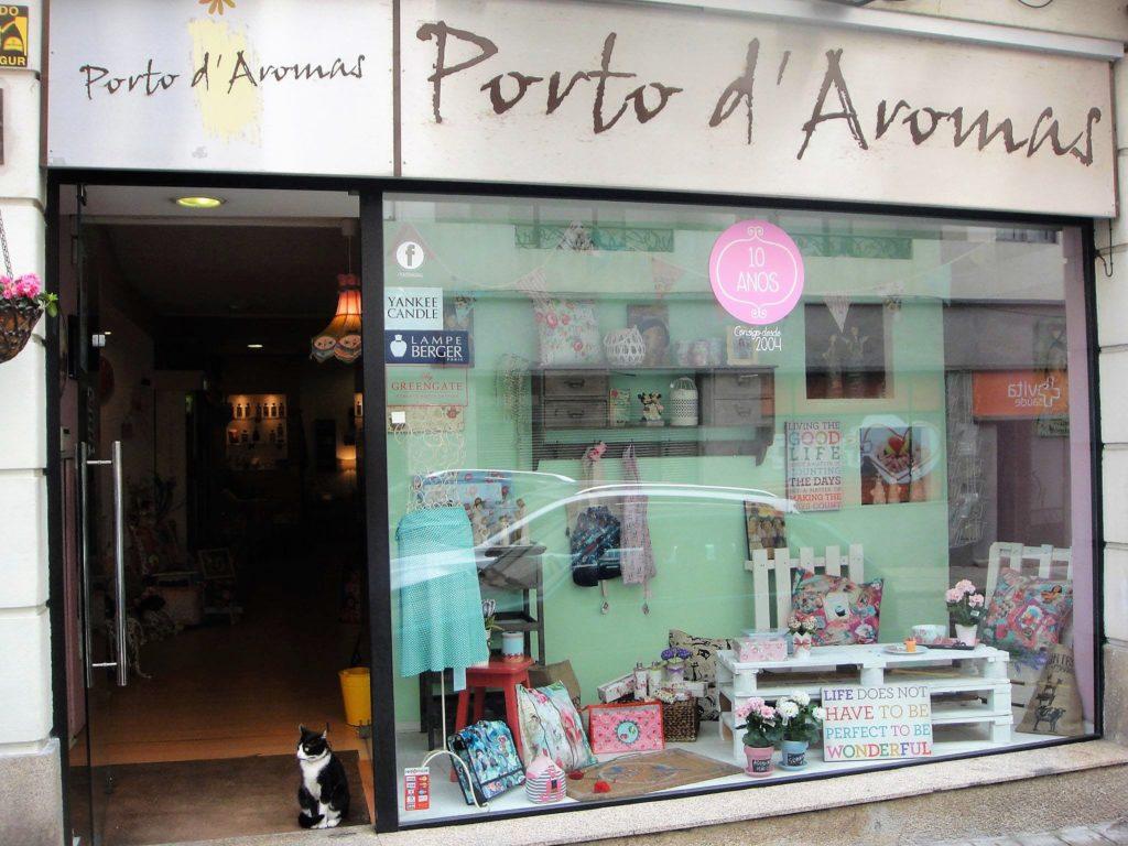 Porto d'Aromas Shopping in Porto