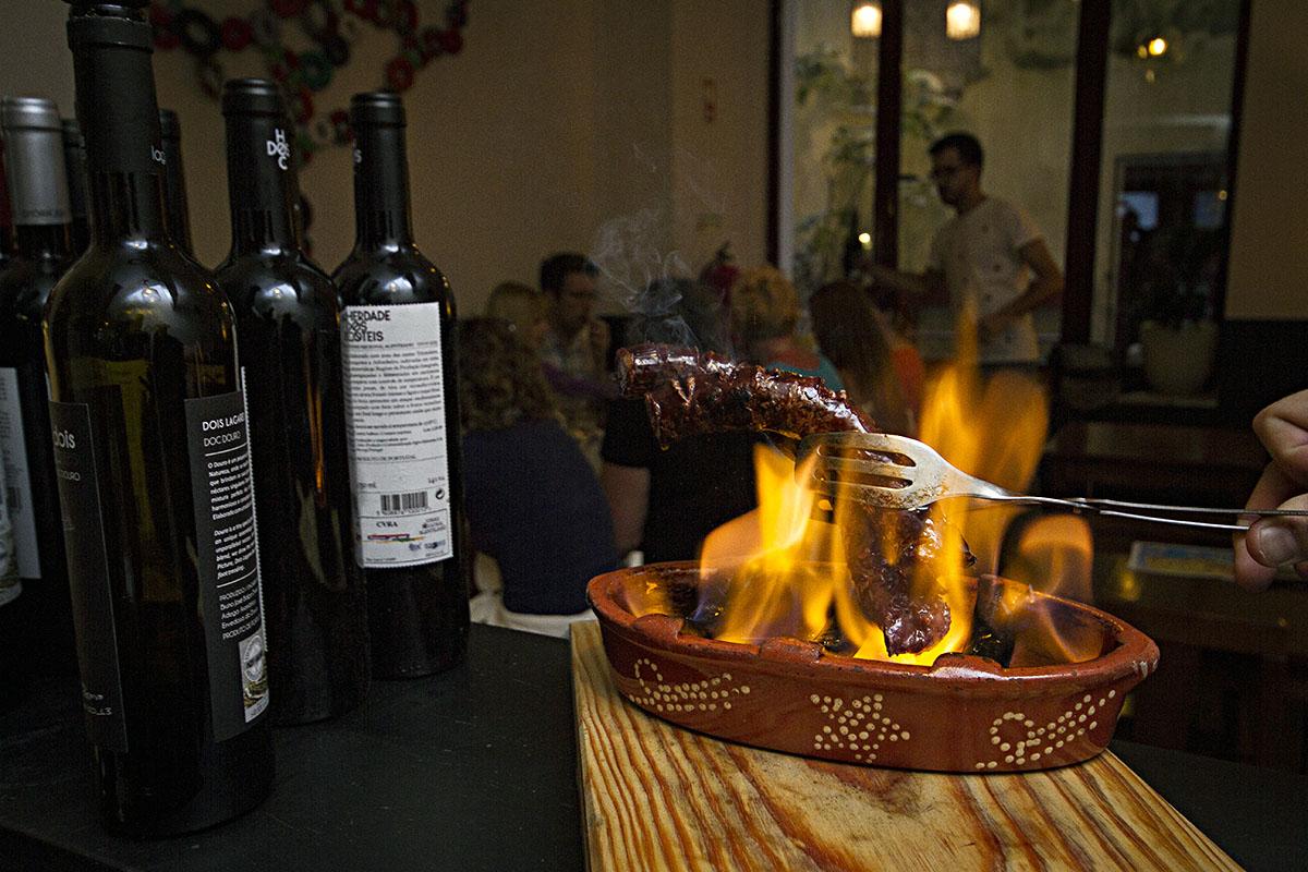 Portuguese Petiscos: Chorizo