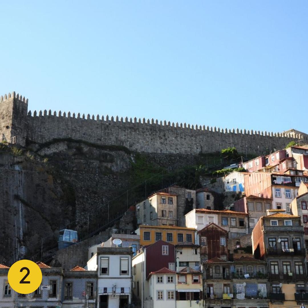 Top Instagrammable Spots in Porto: Muralha Fernandina