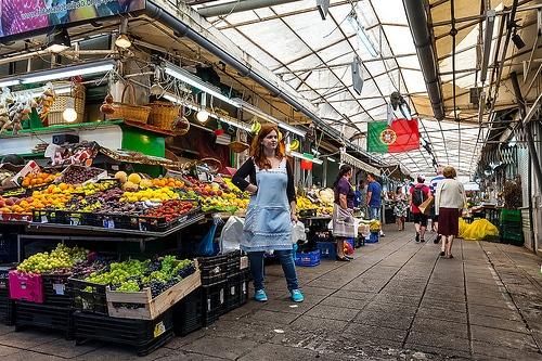 mercado bolhao market porto