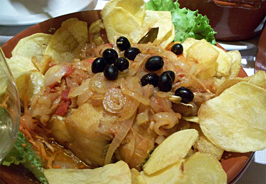 Braga - Traditional Codfish Recipe