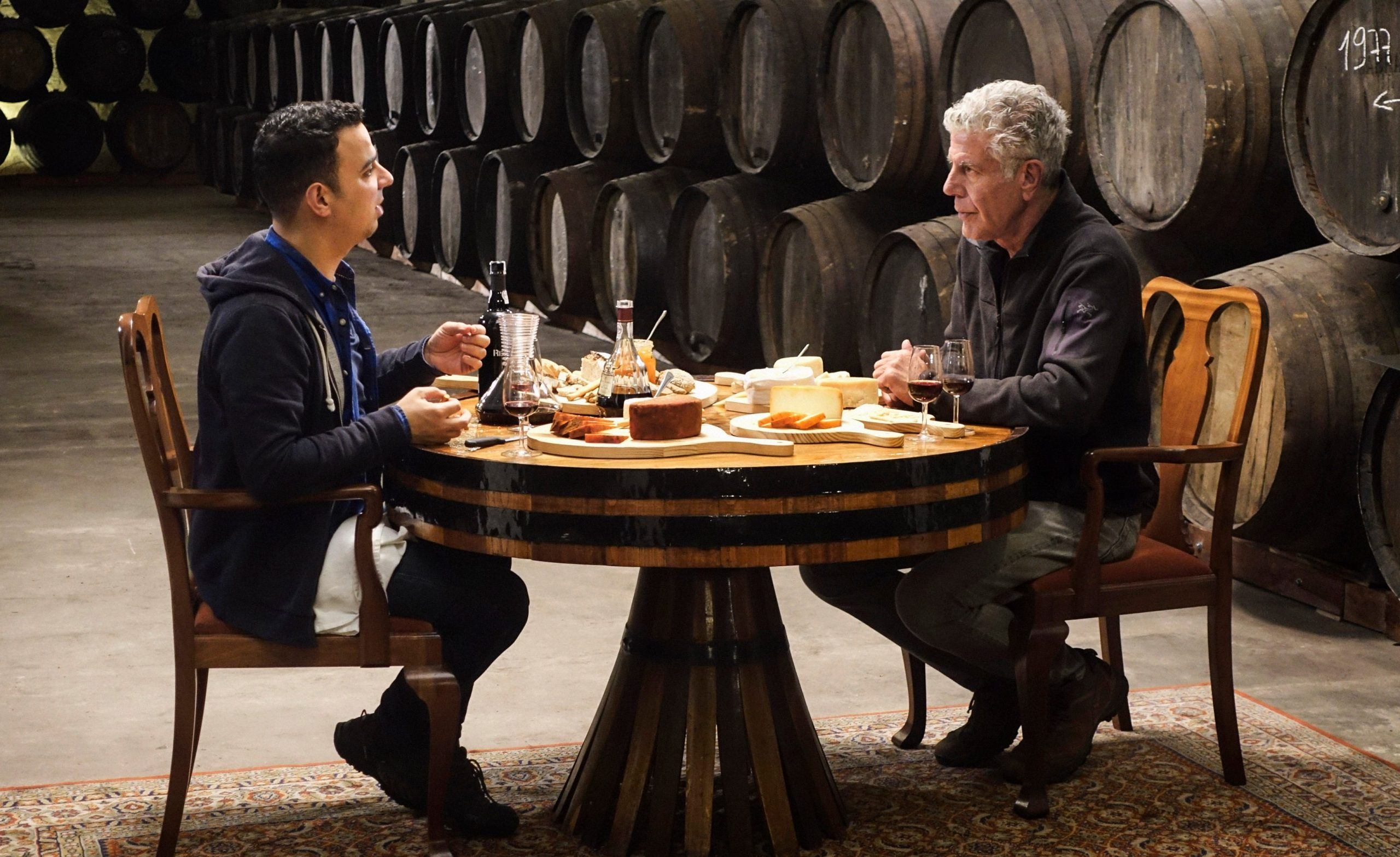 Anthony Bourdain with Taste Porto co-founder